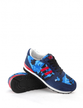 5fcfc19879a3 DOUBLE RED DR camo blue DIGI sneakers ...