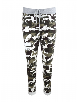 Limited DR W Camo Sweatpants with White/Grey Details