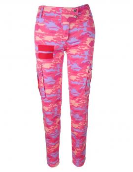 Maskáčové nohavice PinkCamo