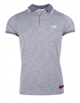 Limited DR M Polo T-shirt Grey Marl