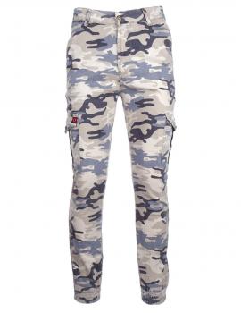 Limited DR M Camodresscode Pants Light Blue