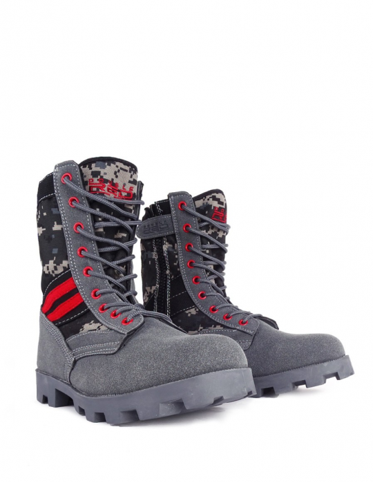 Boots Pray For Grey Red Desert - Great Ride 3e9887822c