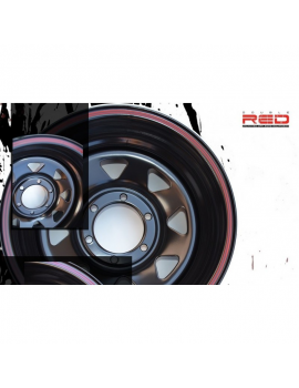 Oceľové disky 16x7 6x139,7 ET-10 Nissan, Toyota, Mitsubishi, Opel, Isuzu