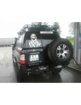 Pevostné nárazníky pre Nissan Patrol Y60,Y61