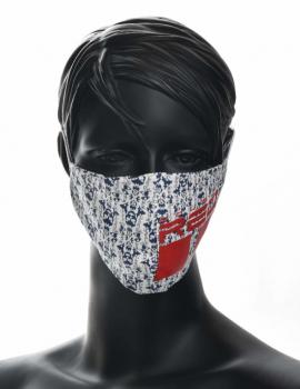REDLIVE RESCUER Skull Trademark Logo Red