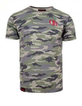 Camouflage basic tričko