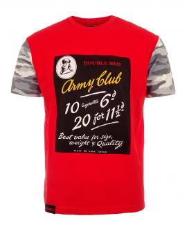 Červené tričko Army Club