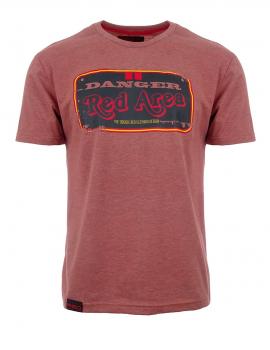 Tričko s potlačou Danger Red Area