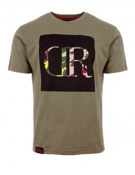 Zelené tričko s logom DR