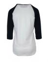 Bielomodré tričko DR ICON